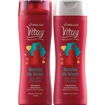 Shampoo e Condicionador Vitay Bomba de Amor
