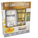 Shampoo Pantene Liso Extremo 400ml + Condicionador 3mm 170ml + Ampola Restauração 15ml