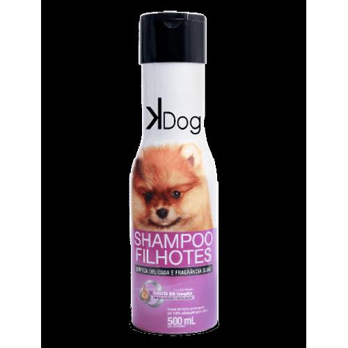 Shampoo Sanol KDog Filhotes para Cães e Gatos 500ml