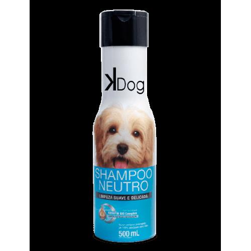 Shampoo Sanol KDog Neutro para Cães e Gatos 500ml