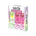 Shampoo Seda Pureza Detox 325ml + Shampoo Seda Ceramidas 325ml + Condicionador Seda Ceramidas 325ml