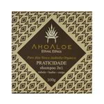 Shampoo Sólido Natural 3 em 1 Praticidade 100g - AhoAloe