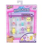 Shopkins Happy Places Kit Decoração Banheiro Coelinhos Dtc