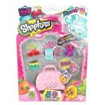 Shopkins Série 4 Blister Kit C/ 5 Miniaturas Sortidos Coleção Petkins DTC 3581