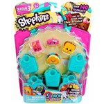 Shopkins Serie 3 - Blister Kit com 5 Shopkins - DTC 3581