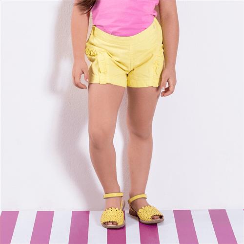 Short Avulso Amarelo/01