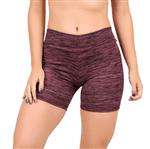 Short Fitness Curto Estampado Feminino (Rosa) P