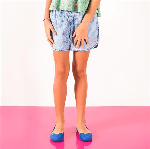 Short Folhinha Pop Jeans/10