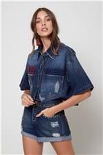 Short Jeans Clarice Patch Jeans - 34