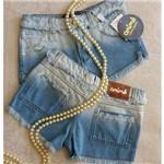 Short Jeans Claro Animê