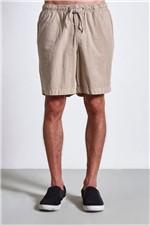 Short Linen Stripes Areia Gg