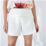 Short Pregas Frente OFF WHITE/38