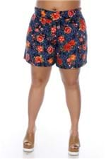 Short Rosas Plus Size 4904G3