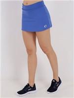 Short-Saia Feminino Azul