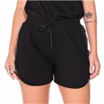 Shorts Bordado Barra Arredondada P