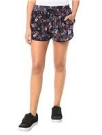 Shorts Calvin Klein Jeans Veludo Floral Marinho - 36