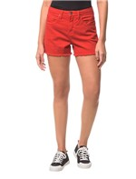 Shorts Color Five Pockets Vermelho - 40
