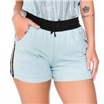 Shorts em Malha com Bolso e Tape Lateral G