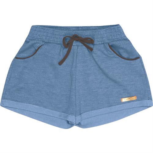 Shorts Juvenil Abrange Moletinho Azul 14
