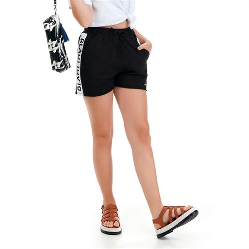 Shorts Juvenil Abrange Way Blah! Blah! Preto 12