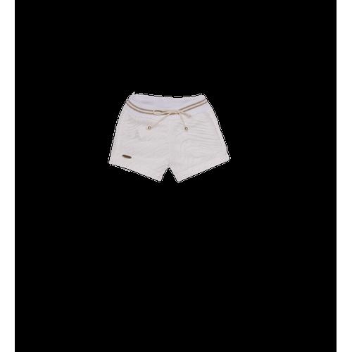 Shorts Moletom Flores Shorts Moleton Flores - M
