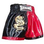 Shorts Muay Thai Strike Boxing Cetim