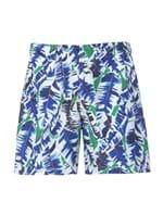 Shorts Palmeira Camuflado Verde Tamanho P