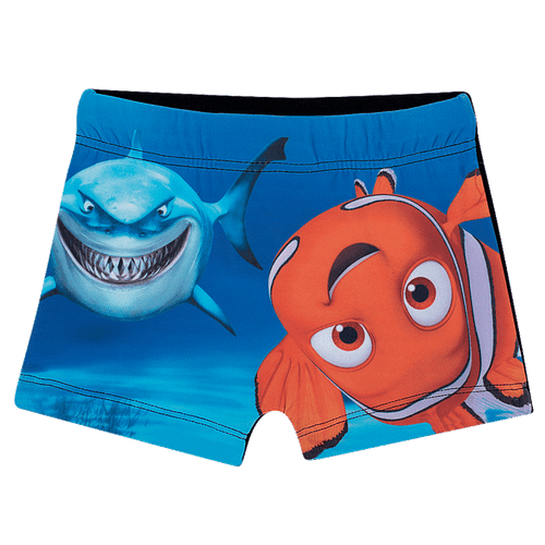 Shorts Praia Procurando Nemo Preto - 1T