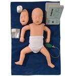 Simulador Bebê para Treino de Rcp Sem Órgãos para Treino de Rcp com Dispositivo de Controle - Anatomic - Tgd-4005-b