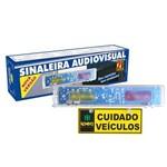 Sinaleira Audiovisual para Sinalizar Entrada e Saida de Veiculos