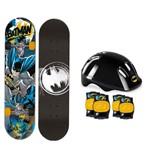 Skate Batman com Kit de Acessórios - Fun Divirta-se