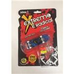 Skate de Dedo Azul - Extremo e Radical - Série1 - Dtc