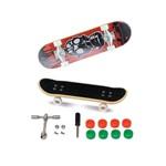 Skate de Dedo Extremo e Radical Série 1 Tóxico Vermelho
