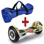 """Skate Elétrico Hoverboard Smart Balance Wheel 10"""" Hiphop"""