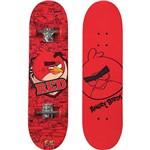 Skate Irado Angry Birds Fun - Vermelho