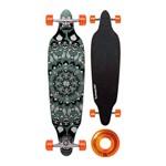 Skate Long Board 2 Verde com Rolamento Abec 7 - Multilaser