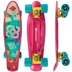 Skate Mini Cruiser Bob Burnquist Rosa - Atrio