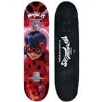 Skate Miraculous Ladybug com Acessorios de Segurança Fun 8108-3