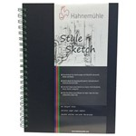 Sketchbook Style Espiral Verde 120 G/m² A-4 com 64 Folhas Hahnemuhle