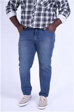 Skinny Amassadinho Plus Size Jeans Blue 52