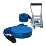 Slackline Classic - 15m - Azul - Muvin Slk-100