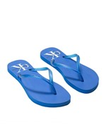 Slide Ckj Fem Silk Re Issue - Azul Royal - 35/36