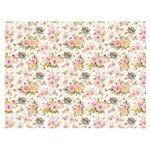 Slim Paper Decoupage Litoarte 47,3x33,8 SPL-012 Flores e Ninho de Passarinho