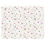Slim Paper Decoupage Litoarte 47,3x33,8 SPL-015 Florzinhas e Corações