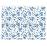 Slim Paper Decoupage Litoarte 47,3x33,8 SPL-024 Flores Azuis