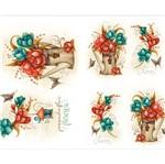 Slim Paper Decoupage Litoarte 47,3x33,8 SPL-051 Jarro e Flores