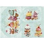 Slim Paper Decoupage Litoarte 47,3x33,8 SPL-039 Cupcake