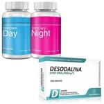 SlimCaps (Kit Dia e Noite) (60 Caps + 120 Caps)+ Desodalina (60 Comp)