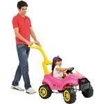 Smart Car Passeio 2 em 1 - Rosa - Brinquedos Bandeirante