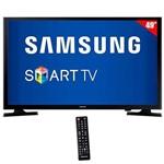 """Smart Tv de 49"""" Samsung Un49j5200ah Full HD com Wi-Fi/hdmi + Conversor Digital"""